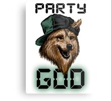 Party God Metal Print