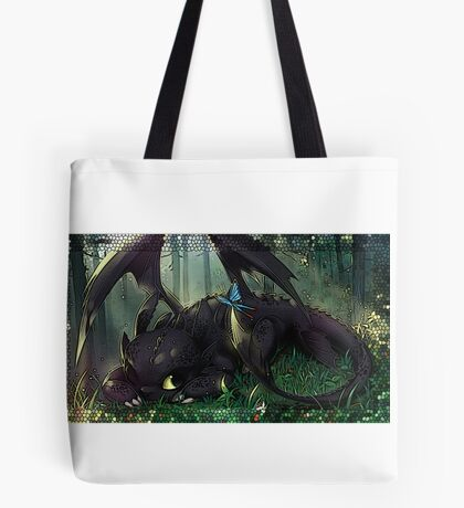 Toothless Mosaic Tote Bag