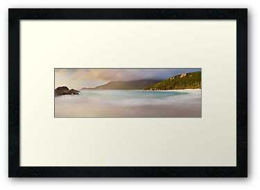 Dawn greets Little Waterloo Bay, Wilsons Promontory, Victoria, Australia by Michael Boniwell