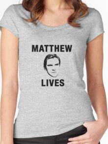 Matthew Lives Women's Fitted Scoop T-Shirt