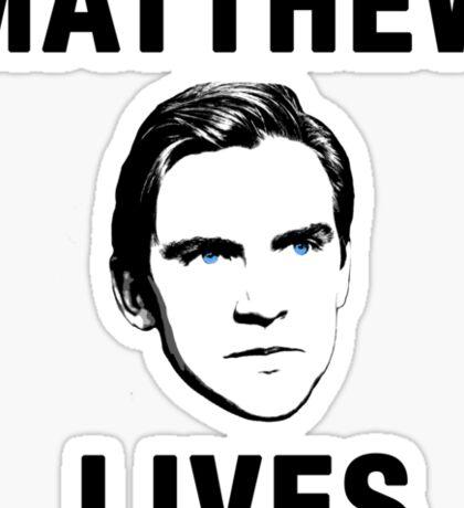 Matthew Lives Sticker