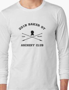 221b Baker Street Archery Long Sleeve T-Shirt