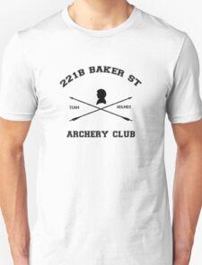 221b Baker Street Archery Unisex T-Shirt