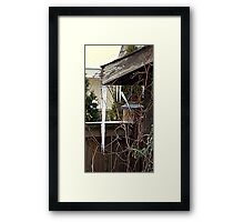 Warming up............ Framed Print