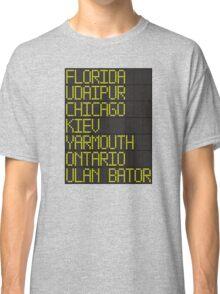 Departures Classic T-Shirt