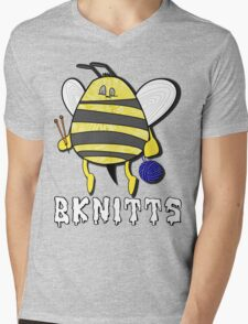 BeeKnitts Mens V-Neck T-Shirt