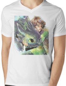 How to train your dragon 'Hug' Mens V-Neck T-Shirt