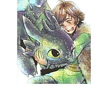 How to train your dragon 'Hug' Photographic Print