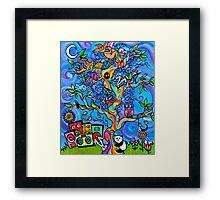 Tree Party Framed Print