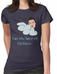 For the love of Helders Womens Fitted T-Shirt