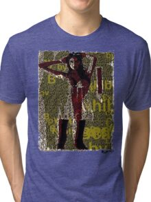 Lady Bytes Ladies #11 Tri-blend T-Shirt