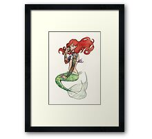 Daddy's Rebel Princess Framed Print