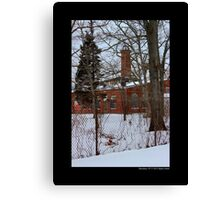 Nikola Tesla's Wardenclyffe Laboratory Building - Shoreham, New York Canvas Print