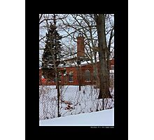 Nikola Tesla's Wardenclyffe Laboratory Building - Shoreham, New York Photographic Print