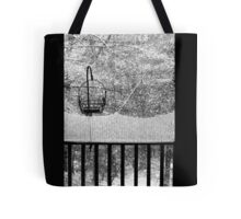 The Balcony View  Tote Bag