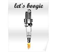 let's boogie Poster