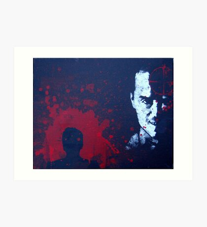 The Criminal Art Print