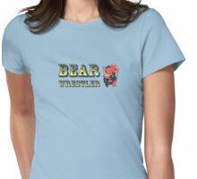 Bear Wrestler Womens Fitted T-Shirt