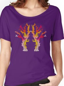 Abstract Corals Women's Relaxed Fit T-Shirt