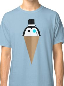 Peppermint Penguin Classic T-Shirt