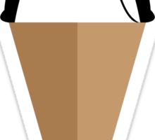 Peppermint Penguin Sticker