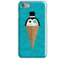 Peppermint Penguin iPhone Case/Skin