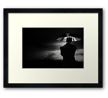 Protection from the Storm Framed Print