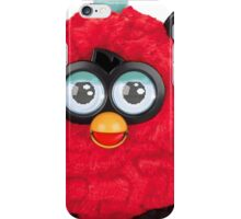 Furby - Red Black iPhone Case/Skin
