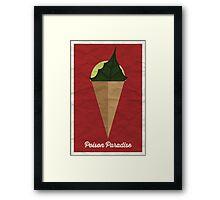 Poison Paradise Framed Print