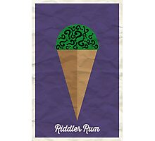Riddler Rum Photographic Print