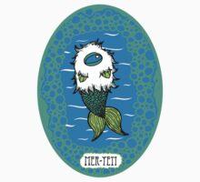 Mer-Yeti Sticker by emo-seal