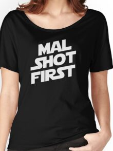 Mal Shot First Women's Relaxed Fit T-Shirt