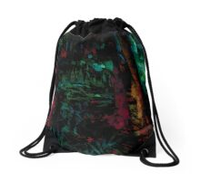 Flora Celeste Jade Forest  Drawstring Bag