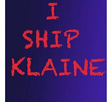 Klaine shipper by aussiecandice