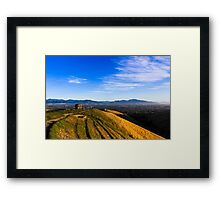 Early Up The Withers Framed Print