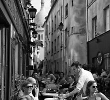 Montmartre Cafe by Andrew & Mariya  Rovenko