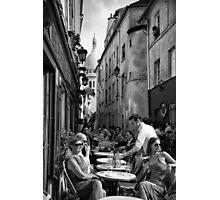 Montmartre Cafe Photographic Print