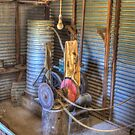 The Lister, Shearing Shed to run equipment prior to electricity  by Kym Bradley