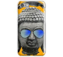 Cool Headphones Hip Hop Groove Buddha Banksy  iPhone Case/Skin