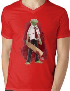 Frog of the Dead Mens V-Neck T-Shirt