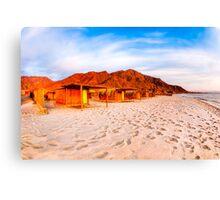 Sinai Sunrise - Egypt Beach Canvas Print