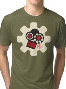 Steampunk Gear (fullsize) Tri-blend T-Shirt
