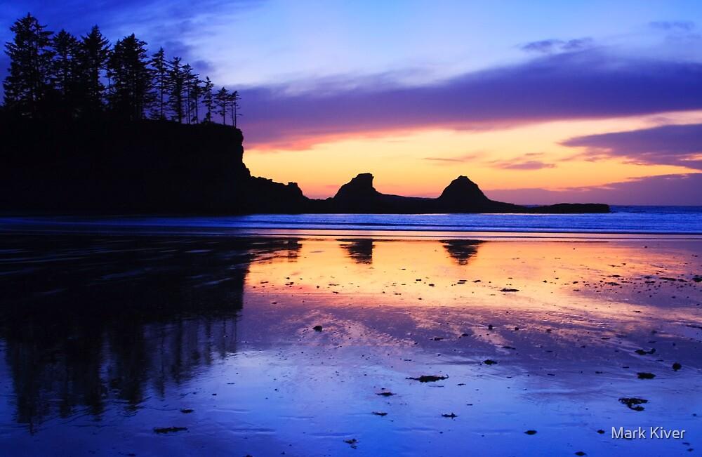 Sunset Bay - Oregon Coast by Mark Kiver
