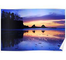Sunset Bay - Oregon Coast Poster