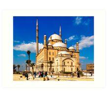 Mosque of Mohamed Ali Pasha - Cairo, Egypt Art Print