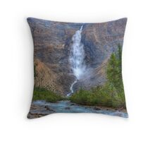 Takakkaw Falls - Yoho National Park Throw Pillow