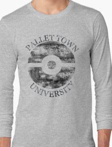 Pallet Town University Long Sleeve T-Shirt