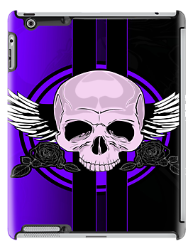Wing Skull - PURPLE by Adamzworld