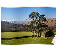 Rydal Head & Great Rigg Poster