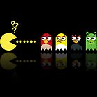 Pacman Angry Birds by NicoWriter